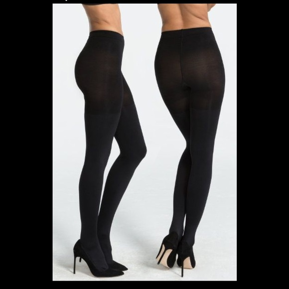 901e3c5db5642 SPANX Accessories | Luxe Leg Blackout Shaping Tights | Poshmark